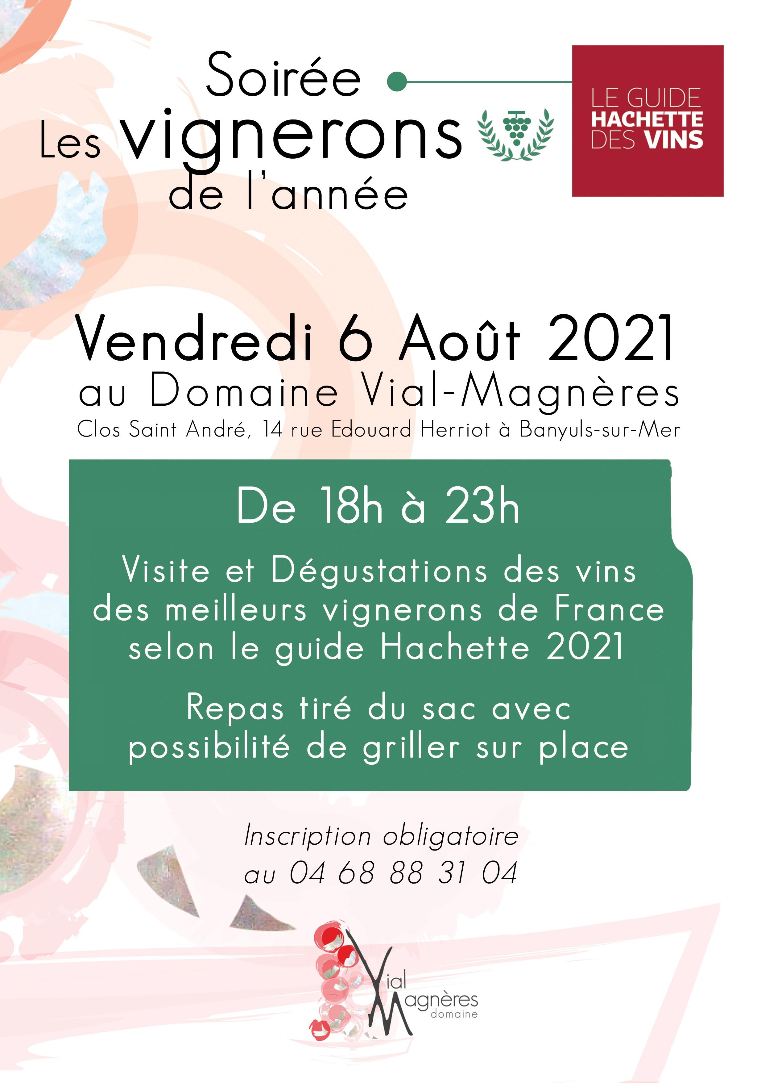 Meilleur vigneron de l'année 2021 du Roussillon Domaine Vial Magnères